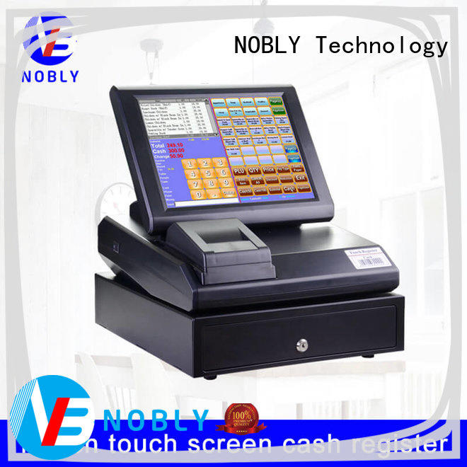 NOBLY Technology Maintenance-free retail cash register price restaurant