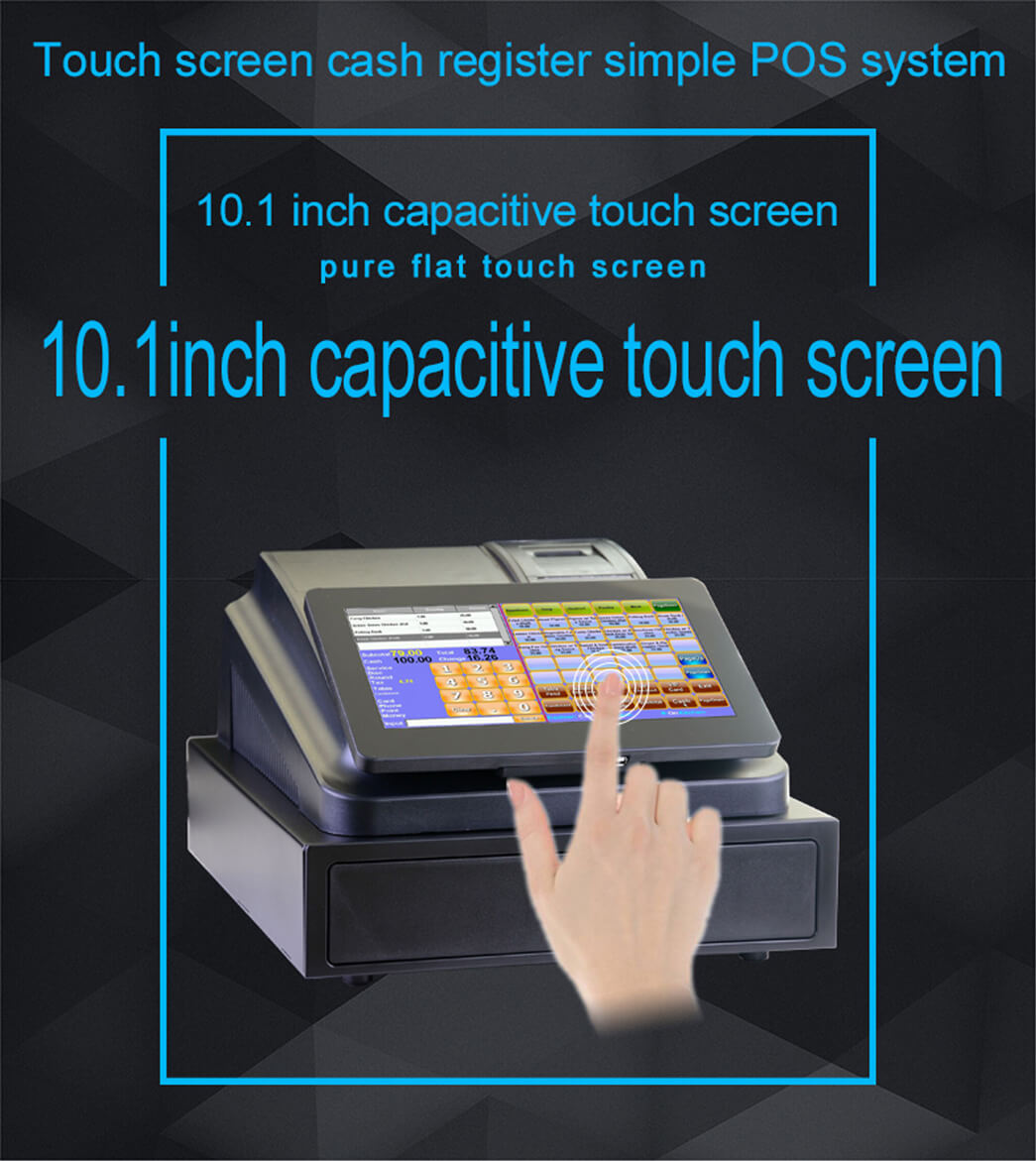NOBLY Technology-Pro 101 Inch Simple Touch Screen Cash Register Simple POS-1