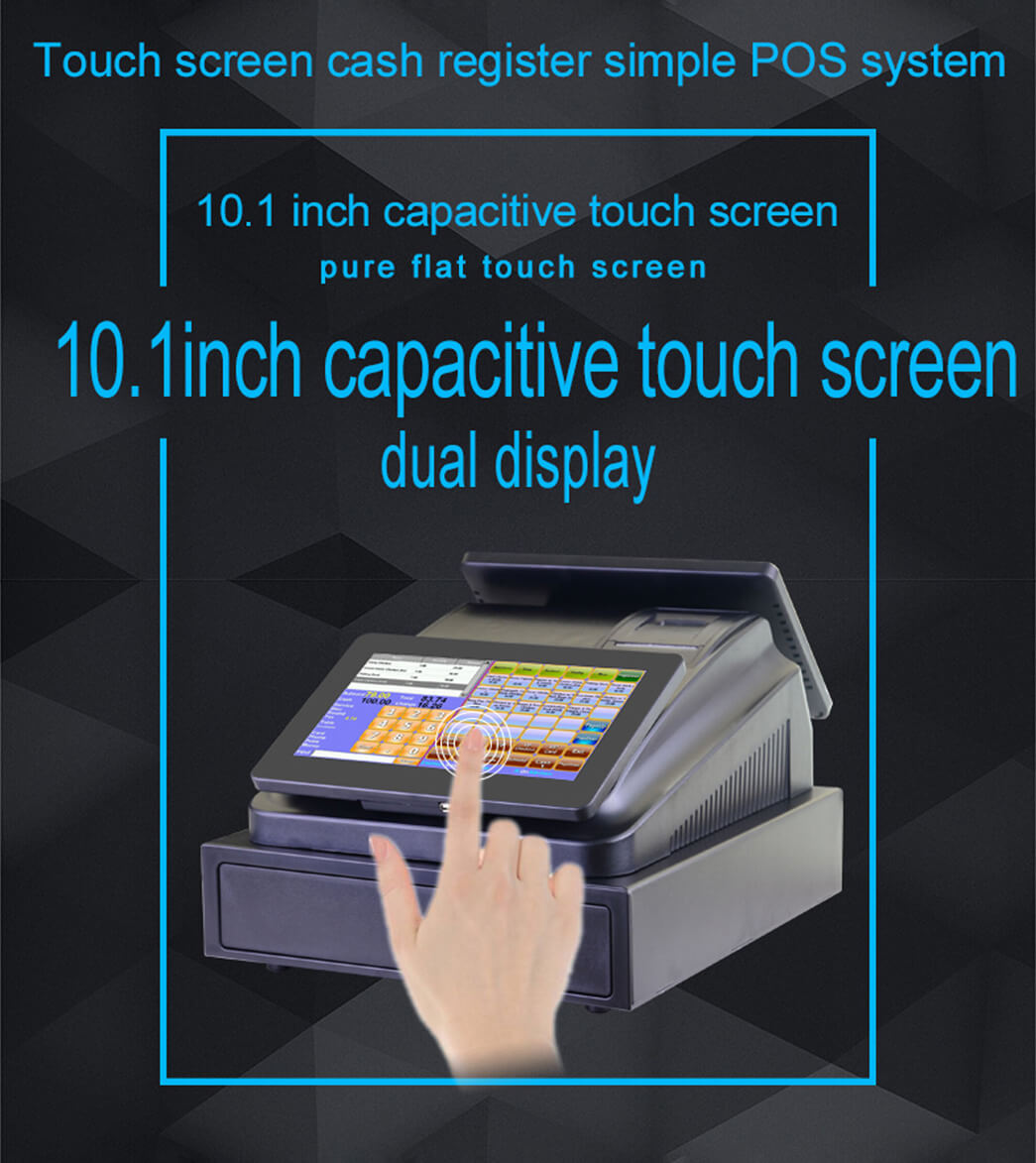 NOBLY Technology-Nobly Dual 101 Inch Touch Screen Pos Cash Registers| Bar Pos-1