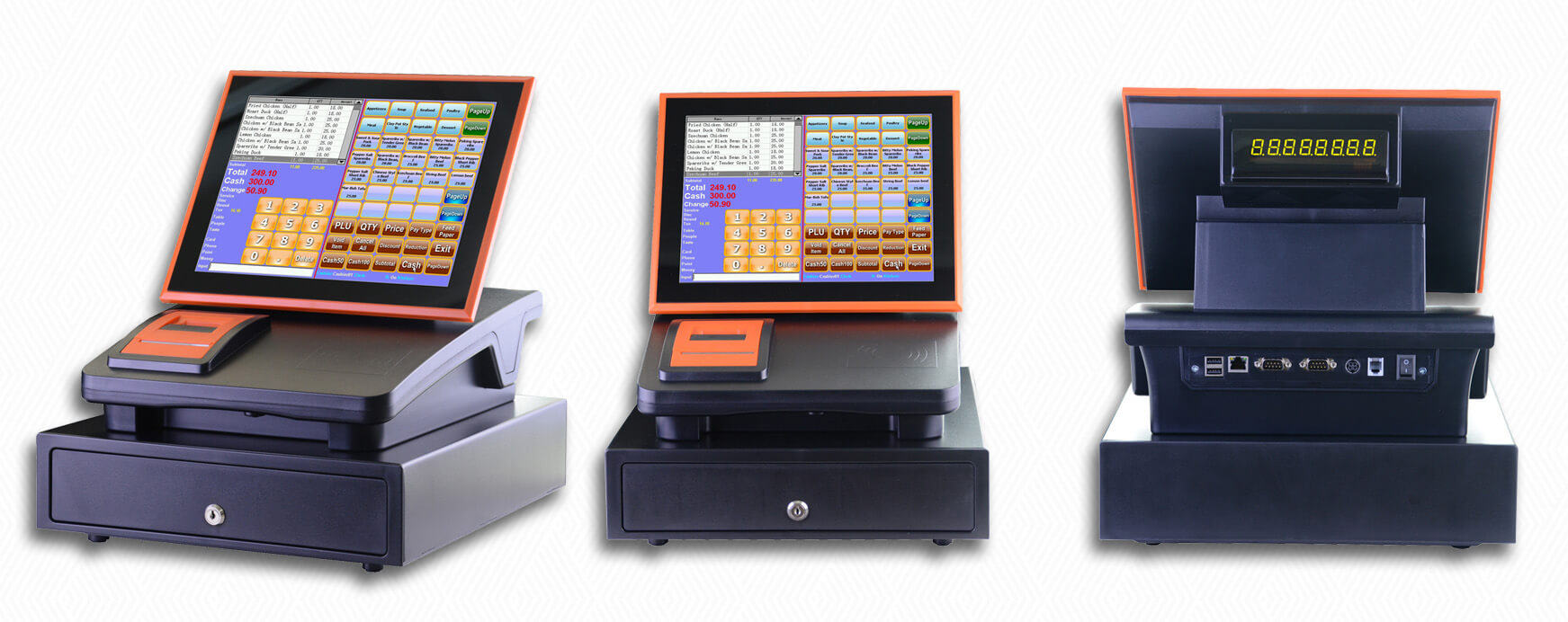 NOBLY Technology-Cash Register Receipt | 12 Inch Capacitive Touch Screen Register