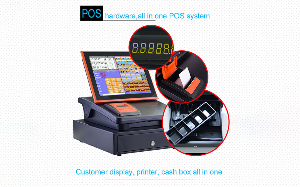 NOBLY Technology-Cash Register Receipt | 12 Inch Capacitive Touch Screen Register-2