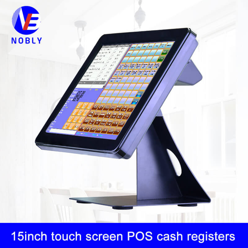 NOBLY 15 inch touch screen POS cash registers T86C simple