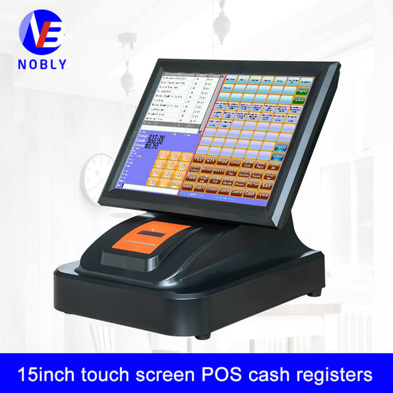Built-in printer 15 inch touch screen POS cash registers T86H simple