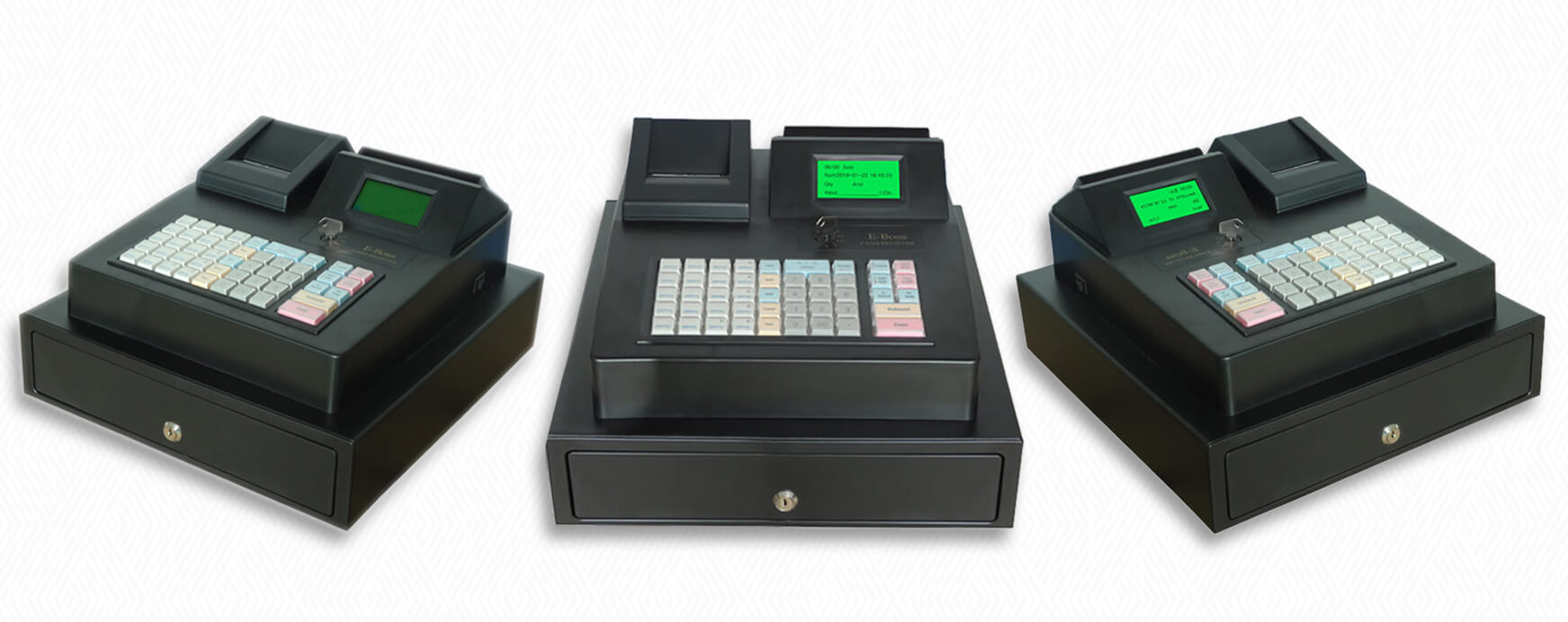 NOBLY Technology-Nobly Bl-686a Electronic Cash Register Machine Keyboard Type