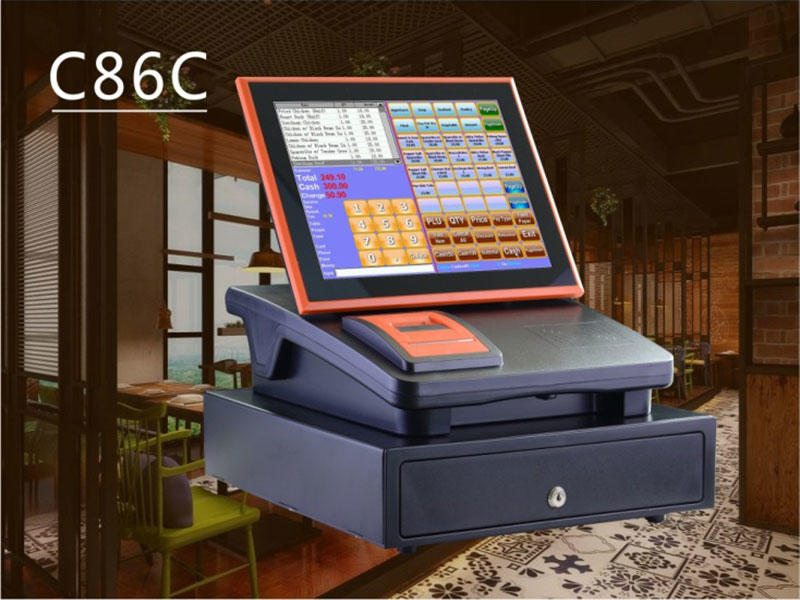 The application of NOBLY cash register in the restaurant