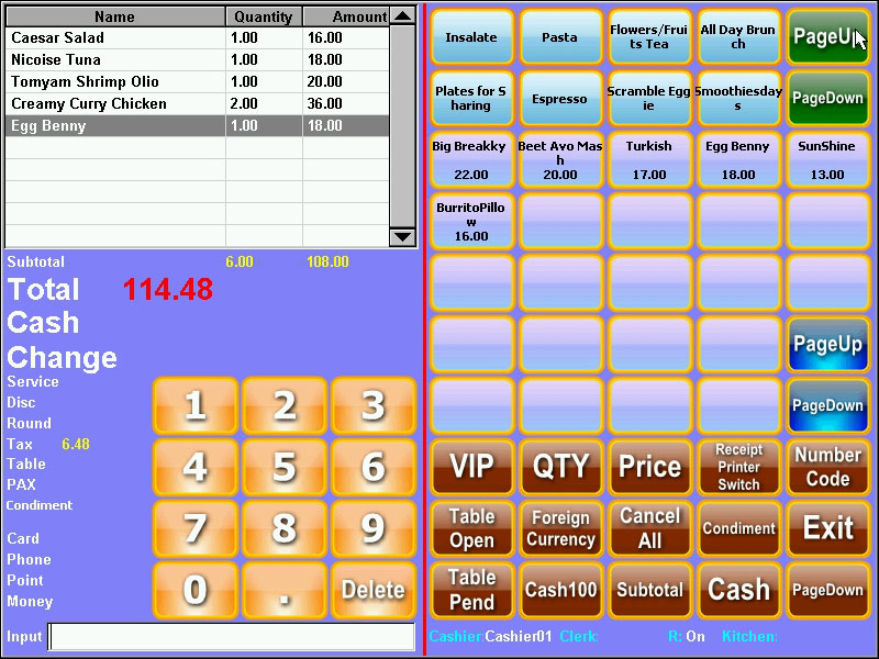 NOBLY Technology-Nobly Cash Register In The Restaurant | Computer And Cash Register-1