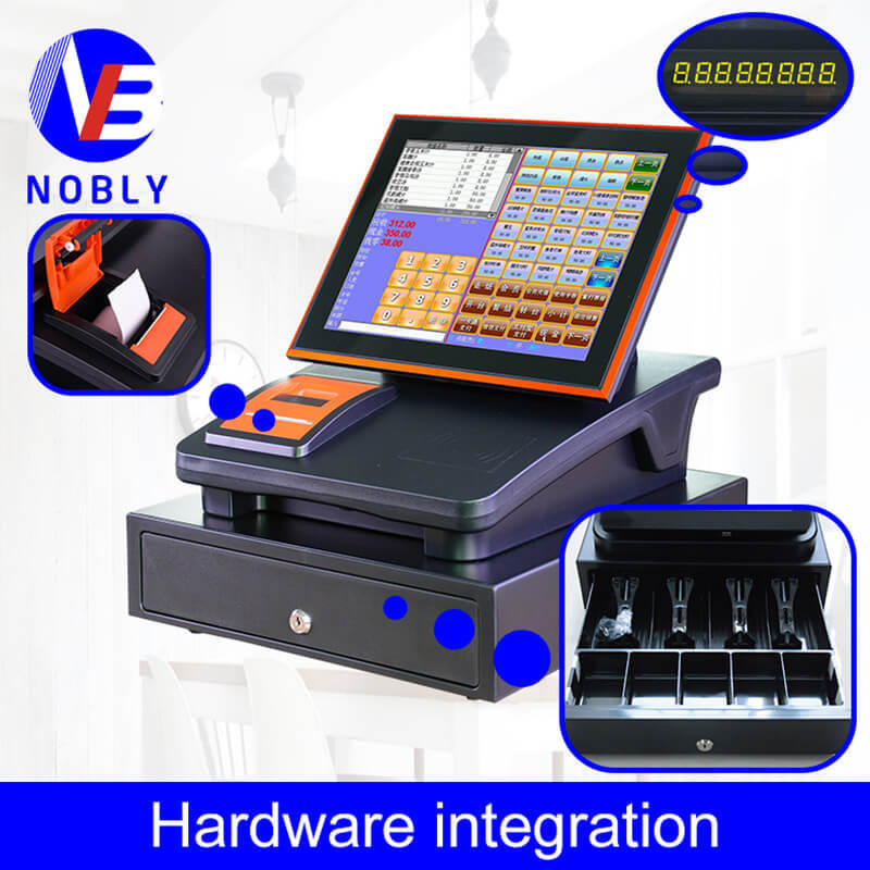 NOBLY Technology-Touch Screen Cash Register-how Much Do You Know About Bar Pos System