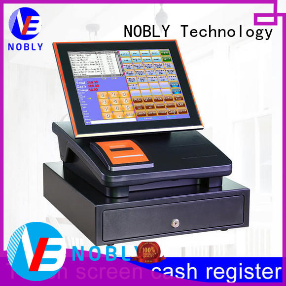 useful small cash register capacitive type for shop