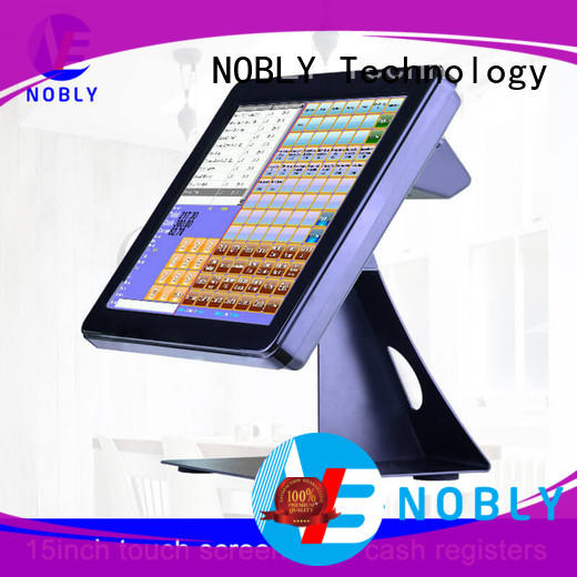 NOBLY Technology touch computer cash register collaboration for single-store
