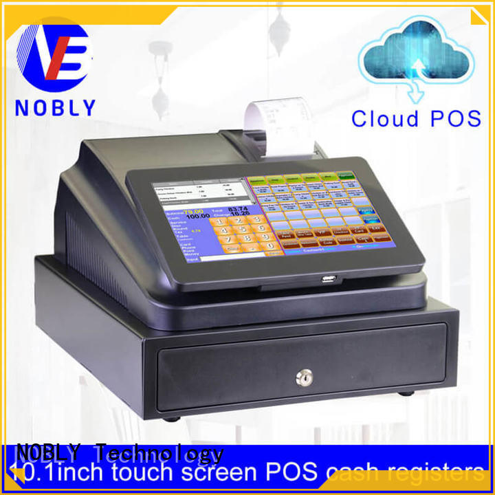 low cost 10.1 inch cloud touch screen cash register electronic for bakery