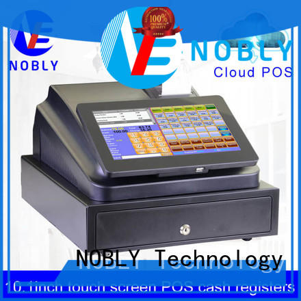NOBLY Technology touch national cash register workwear for bakery