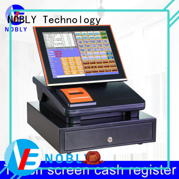 NOBLY Technology capacitive retail cash register for retail shop