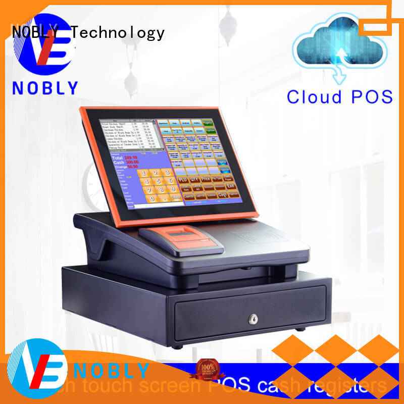 NOBLY 12 inch touch screen cloud Internet electronic cash register C86C