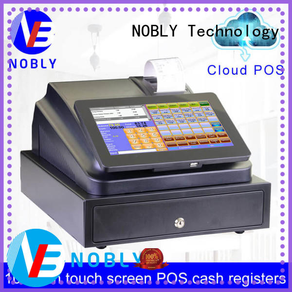 NOBLY Technology register cash register machine for kids for coffee shop