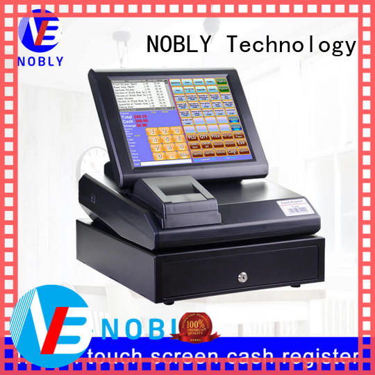 quality 12 inch simple touch screen cash register system owner for retail shop