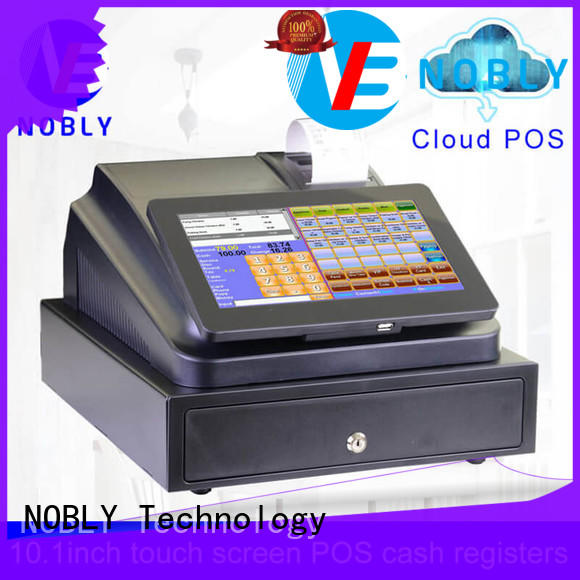 NOBLY Technology first-rate cash register machine with good price for retail shop