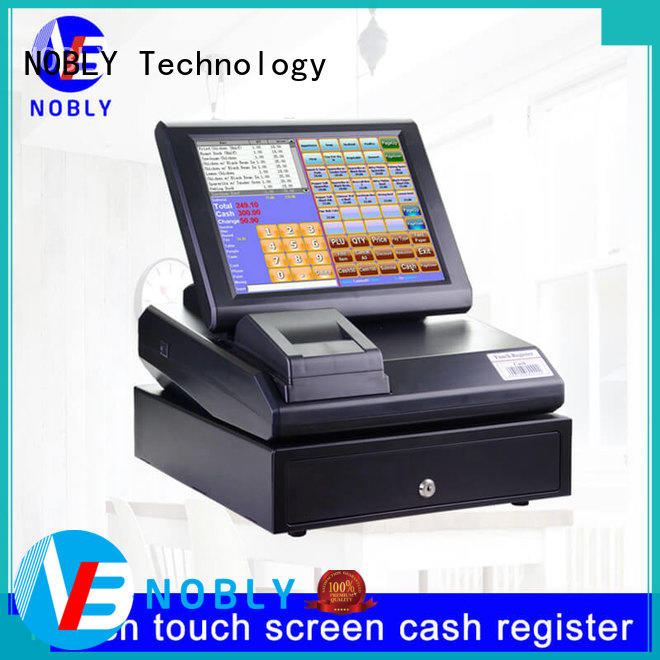 quality 12 inch simple touch screen cash register resistive marketing for single-store