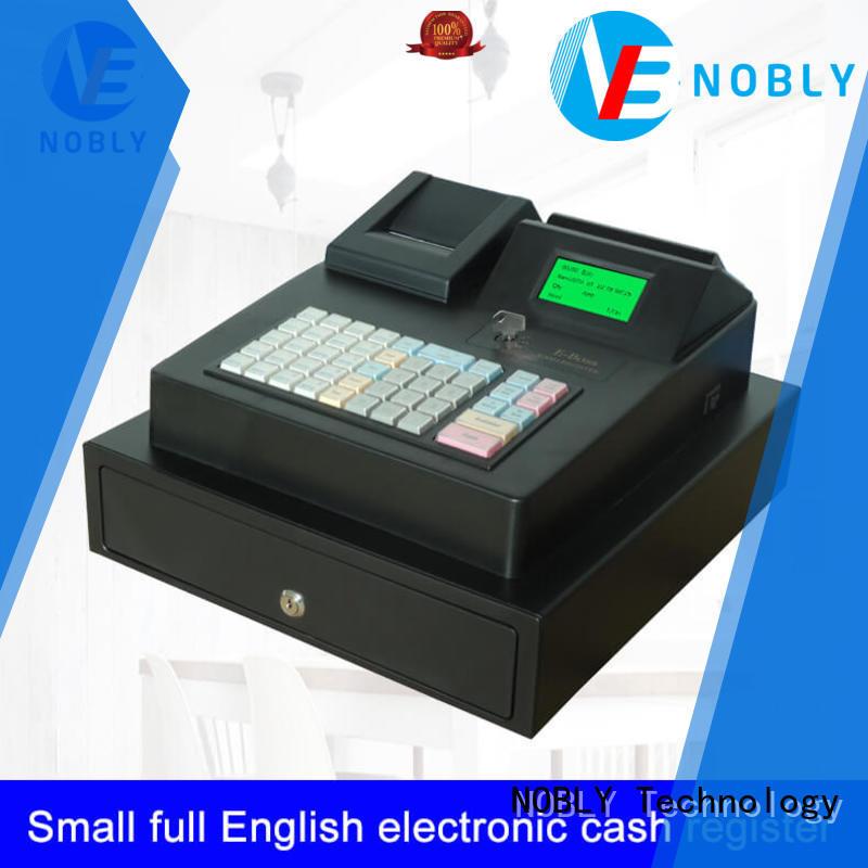 NOBLY Technology cash cash register machine manufacturer restaurant