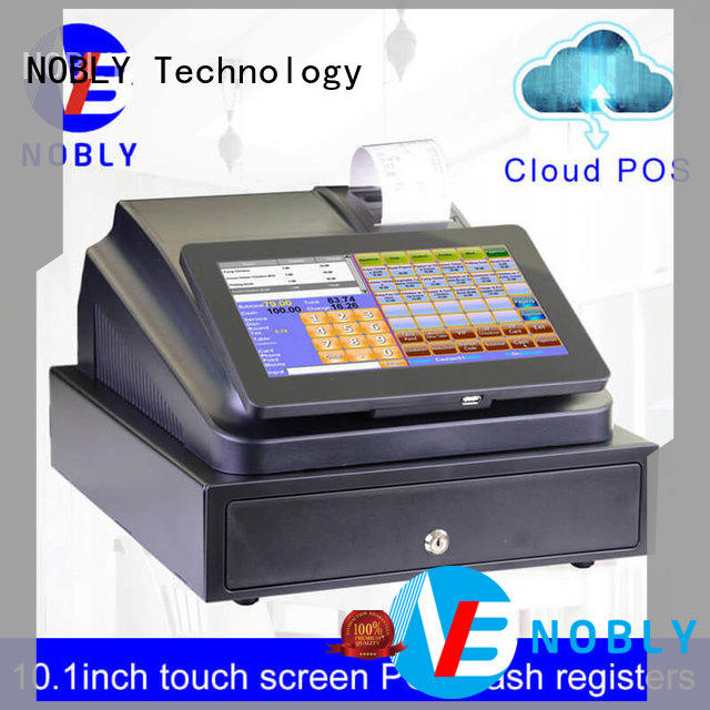 NOBLY 10.1 inch touch screen cloud Internet electronic cash register C86D