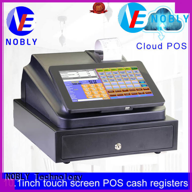 NOBLY Technology newly 10.1 inch cloud touch screen cash register for kids for retail business