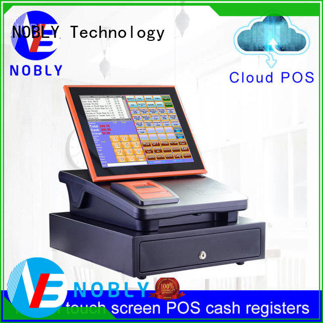 first-class quality 12 inch cloud touch screen cash register cash scientificly for single-store