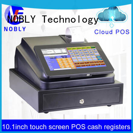 NOBLY Technology new-arrival 10.1 inch cloud touch screen cash register for small businessb