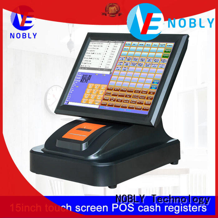 NOBLY Technology environmental  computer cash register collaboration for canteen
