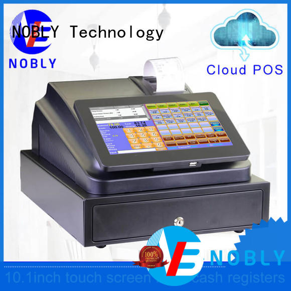commercial 10.1 inch cloud touch screen cash register internet for kids for F&B catering