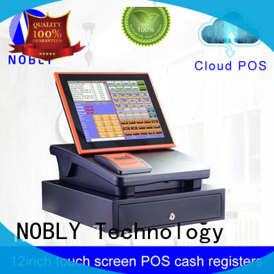 Quality NOBLY Technology Brand management 12 inch cloud touch screen cash register