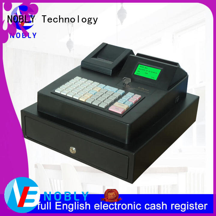 NOBLY Technology commercial pos cash register certifications for retail business