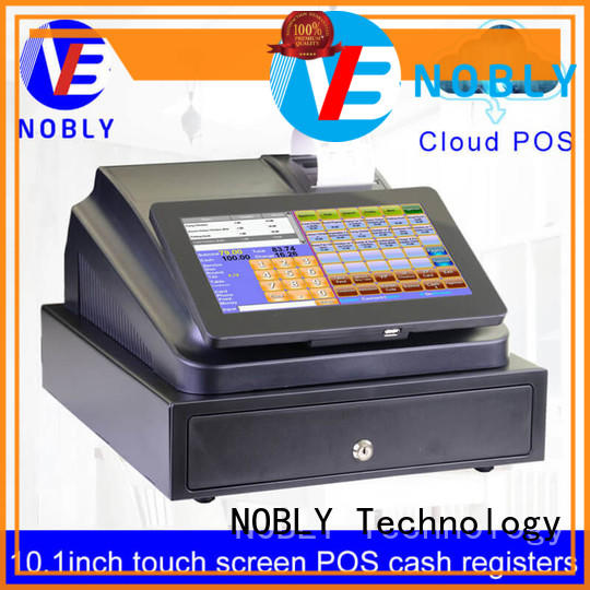 pos register screen NOBLY Technology