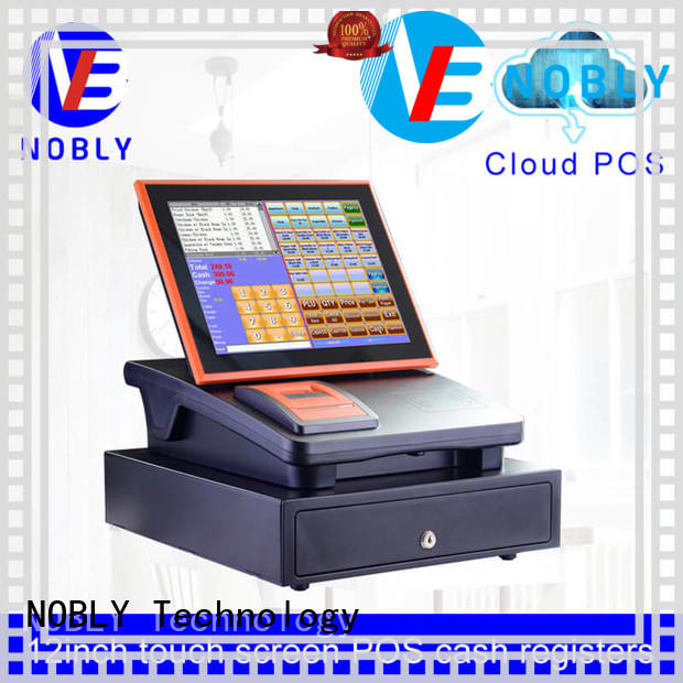 NOBLY Technology cloud sharp electronic cash register scientificly for small businessb