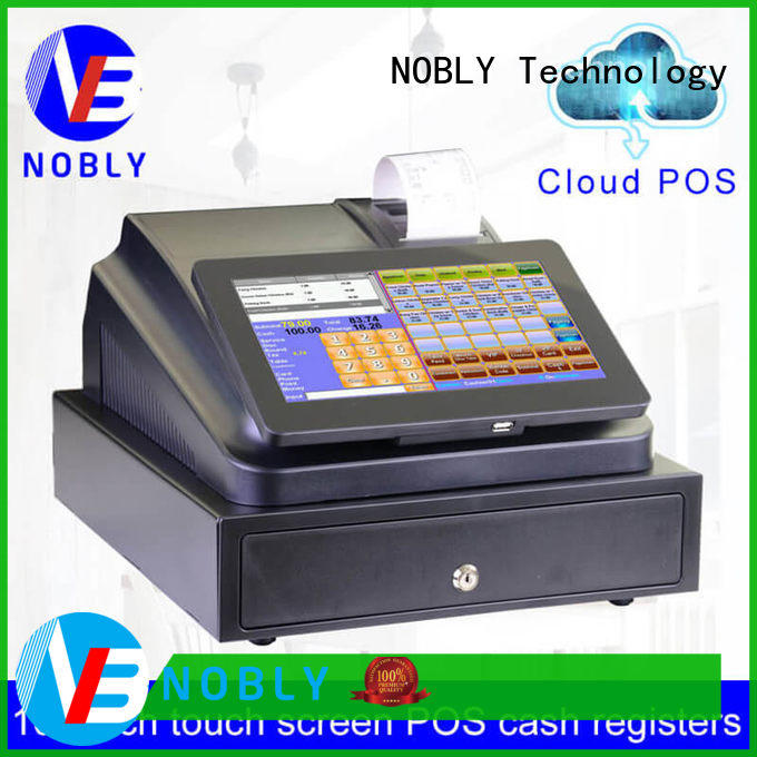 NOBLY Technology commercial pos cash register for retail business