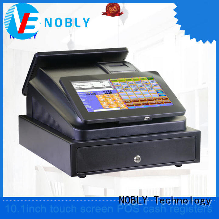 NOBLY Technology customer bar pos supplier for coffee shop