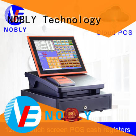 NOBLY Technology standard sharp electronic cash register scientificly for F&B catering