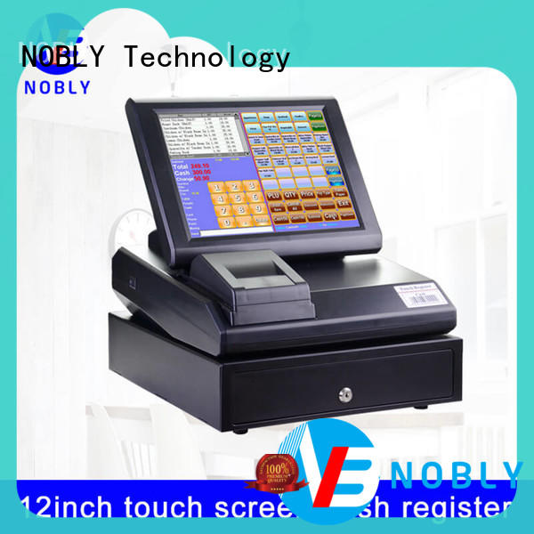 NOBLY Technology easy to develop cash register receipt supplier for F&B catering