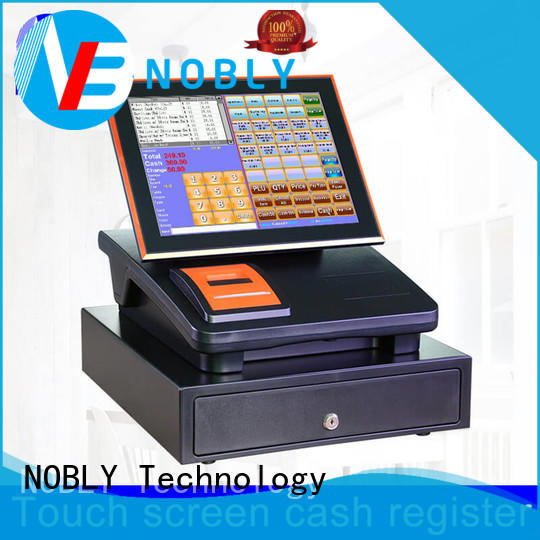 high stability restaurant cash register capacitive cost for F&B catering