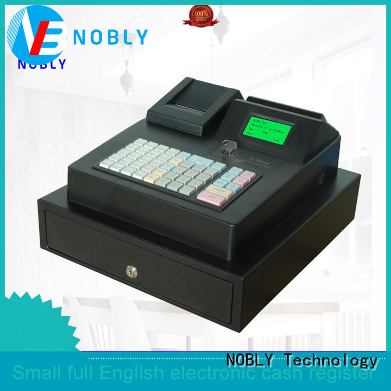 NOBLY Technology high stability keyboard electronic cash register manufacturer for small businessb