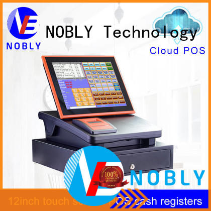 NOBLY Technology first-class quality 12 inch cloud touch screen cash register popular for canteen