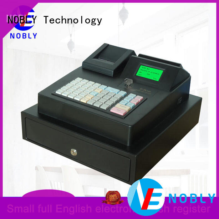 NOBLY Technology cash keyboard electronic cash register certifications for small businessb