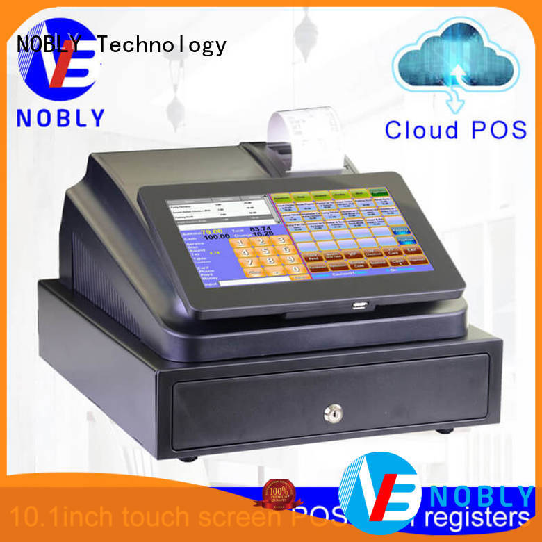 NOBLY Technology new-arrival national cash register with good price for small businessb