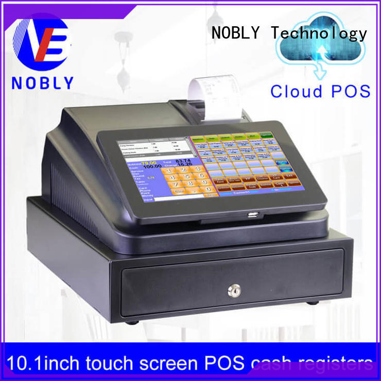 NOBLY Technology inexpensive cash register machine with good price for single-store