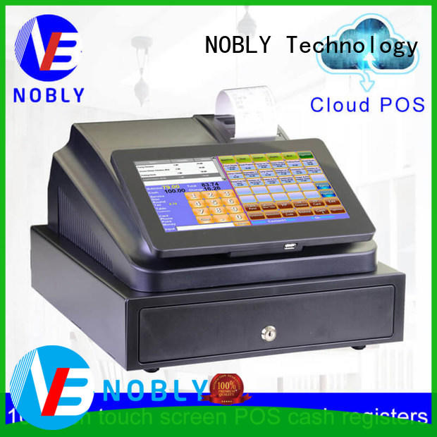 NOBLY Technology electronic national cash register directly sale for retail shop