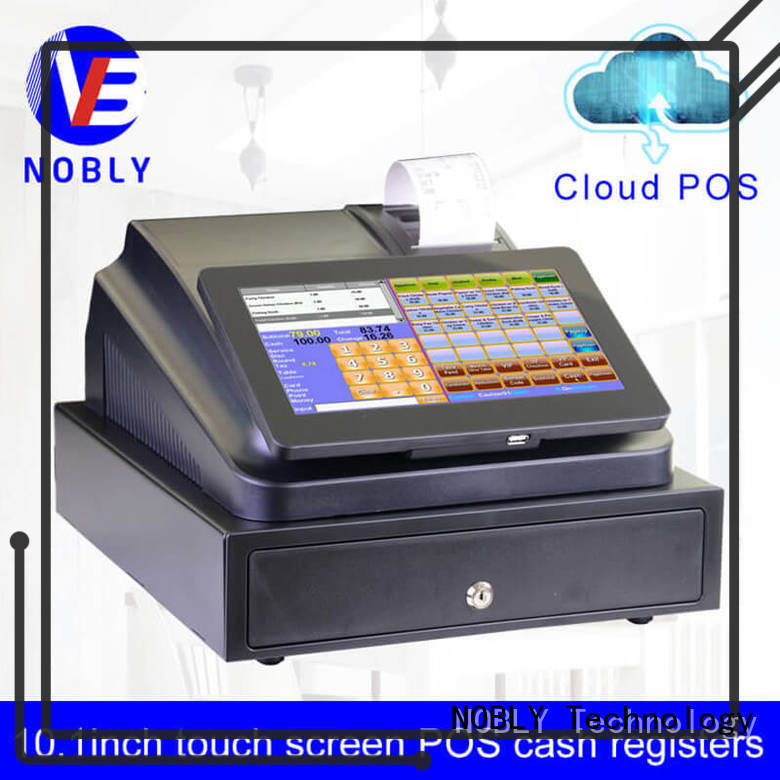 NOBLY Technology cloud 10.1 inch cloud touch screen cash register workwear for F&B catering
