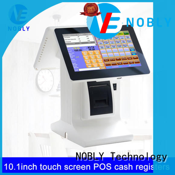 NOBLY Technology humanized cafe pos order now