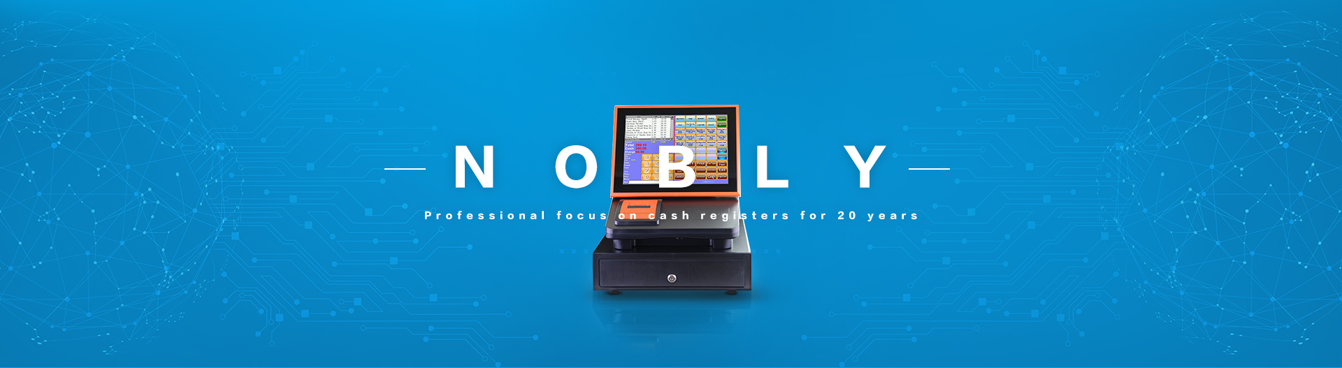 Professional News Electronic Cash Register For Restaurant - Nobly-NOBLY Technology