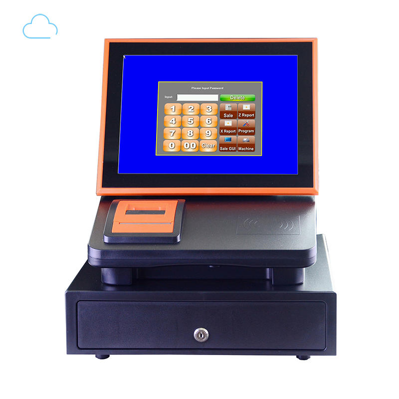 excellent 12 inch cloud touch screen cash register electronic