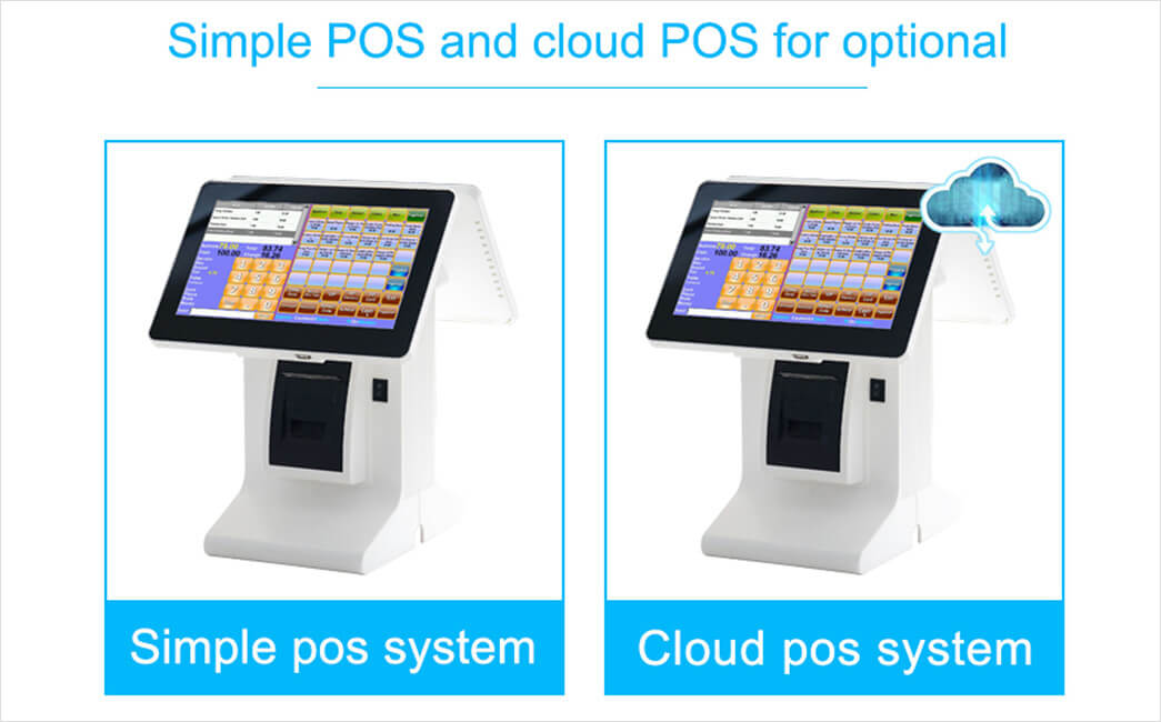NOBLY Technology-Best Restaurant Pos, Nobly Register With 101 Inch Dual Screen-9