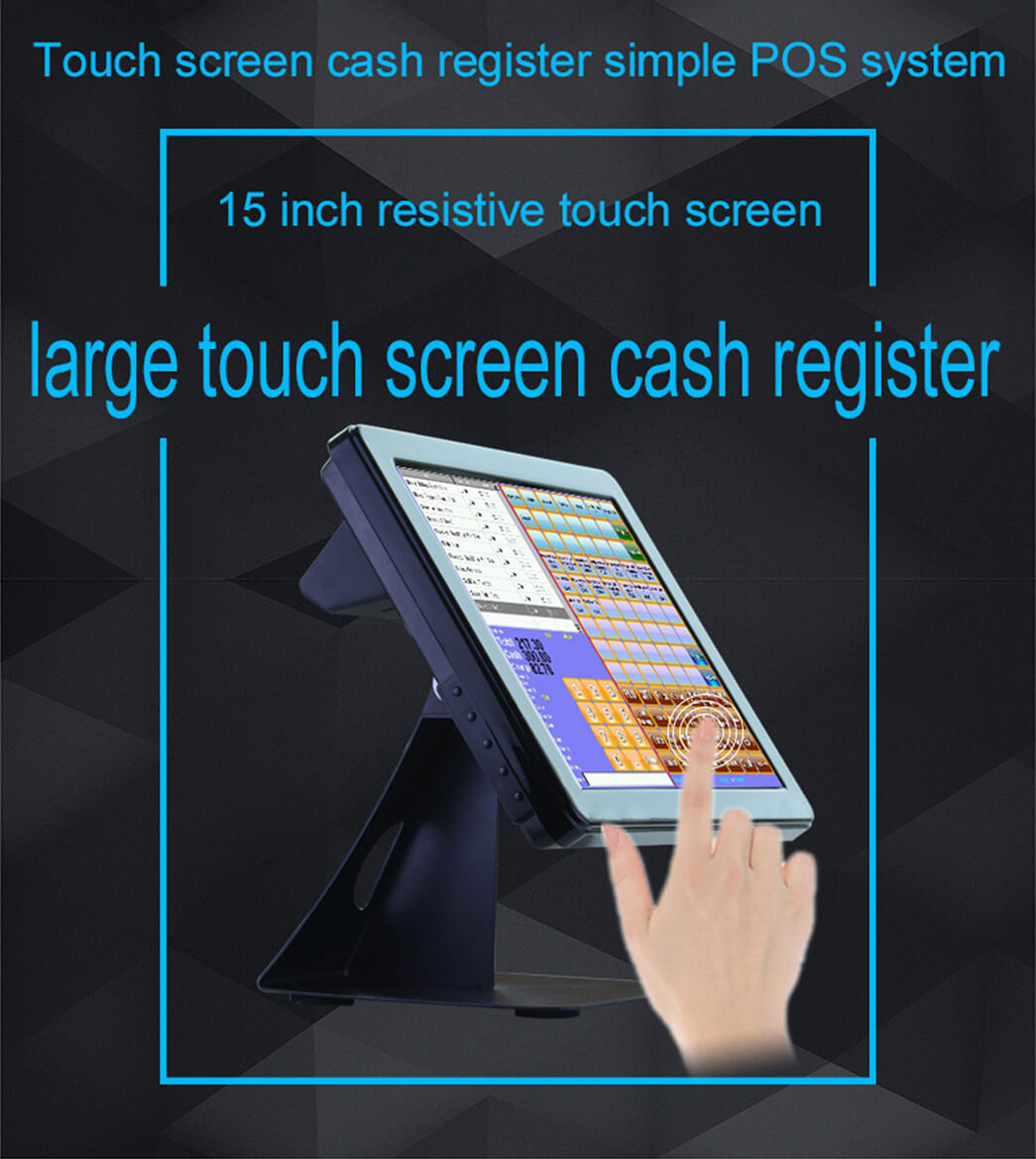NOBLY Technology-Manufacturer Of New Cash Register Nobly With 15 Inch Touch Screen-1