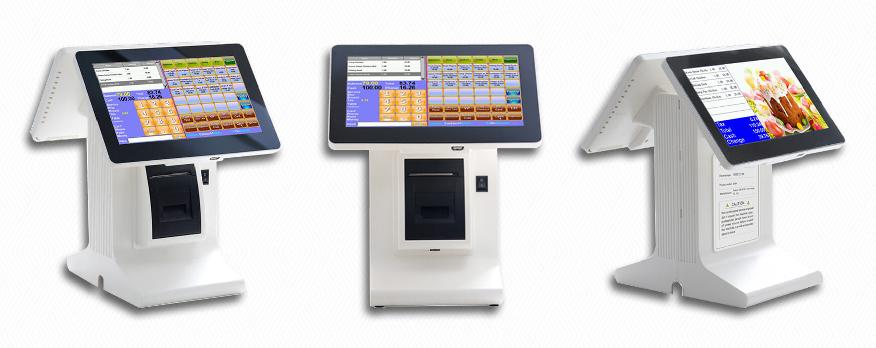 NOBLY Technology-Best Restaurant Pos, Nobly Register With 101 Inch Dual Screen
